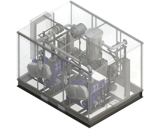 Universal Blower Pac Biogas Blower