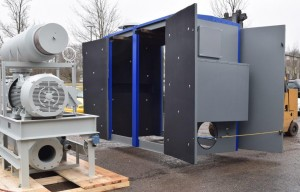 Direct Drive blower system and noise enclosure