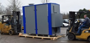 Kirksville WWTP loading blower system