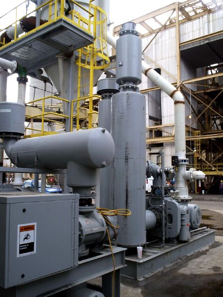 Power Generation Plant Powered By Universal Blower Pac
